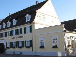 Familien-Appartement 1 klein mit WC und Dusche/Bad - Scheidels Restaurant zum Kr