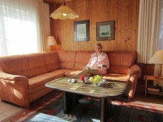 Ferienwohnung 'Vordergarten' - Ferienwohnungen Altes Forsthaus Fischbach