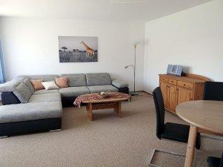 Ferienwohnung mit ca. 62qm, 1 Schlafzimmer, 1 Wohn-/Schlafzimmer, für maximal 4