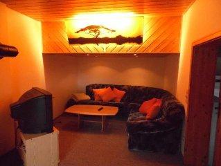 Ferienwohnung mit ca. 67qm, 2 Schlafzimmer, fur maximal 6 Personen