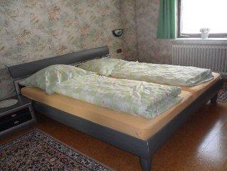 Ferienwohnung, 110qm, 3 Schlafzimmer, max. 5 Personen