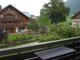 Ferienwohnung Rettenberg für 2 - 4 Personen mit 2 Schlafzimmern - Ferienwohnung