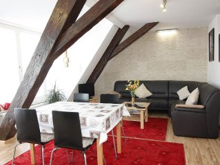 Apartment Schwabentor, 64 m2, 1 ou 2 bedrooms, max 4 people