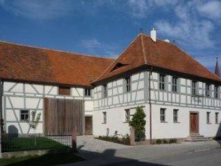 Ferienwohnung Bad Windsheim für 2 - 8 Personen mit 2 Schlafzimmern - Bauernhaus