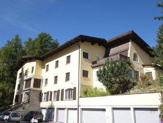 Ferienwohnung Pontresina für 4 - 6 Personen mit 2 Schlafzimmern - Ferienwohnung