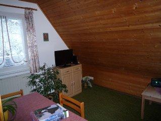 Ferienwohnung 2 mit 35qm, 1 Schlafzimmer, für maximal 2 Personen