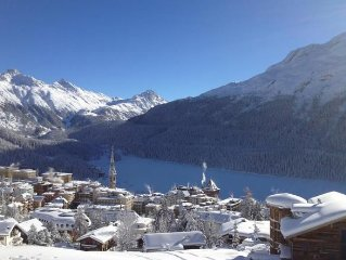 Vacation home St. Moritz for 6 persons with 3 bedrooms - Luxury holiday home