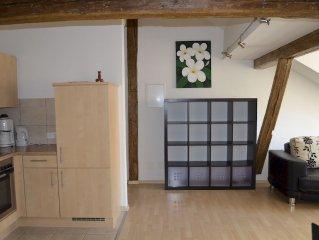 Ferienwohnung 11 mit ca. 50qm, 1 Schlafzimmer, 1 Wohn-/Schlafzimmer, für maxima