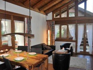 Ferienwohnung Zermatt fur 4 Personen mit 2 Schlafzimmern - Ferienwohnung