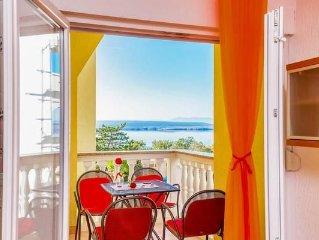 Ferienwohnung Dramalj fur 5 - 7 Personen mit 2 Schlafzimmern - Ferienwohnung