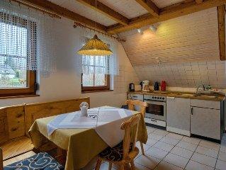 Ferienwohnung 60 qm, 2 Schlafzimmer, max. 4 Personen