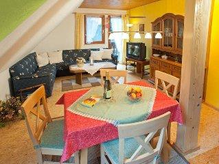 Ferienwohnung 3, 95qm, 3 Schlafzimmer, max. 5 Personen
