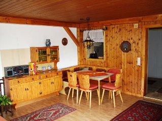 Ferienwohnung mit ca. 70 qm, 1 bis 2 Schlafzimmer, für maximal 4 Personen