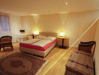 """Wohnung 1 """"Giardino"""" mit Zen-Garten, 90 qm, 2 Schlafzimmer,  max. 6 Personen"""