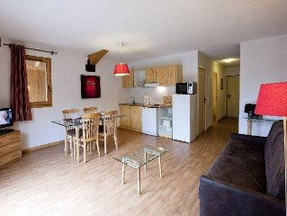 Residence Orelle 3 Vallees*** - 2 Pieces 5 Personnes