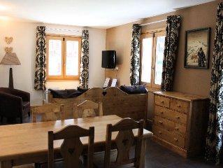 Residence & Spa Vallorcine Mont Blanc***** - 3 Pieces Duplex 6 Personnes