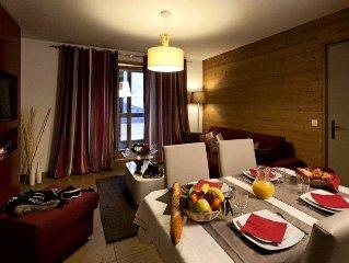 Residence Club MMV L'Etoile des Cimes**** - 2 Pieces 4 Personnes Confort