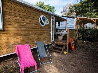 Camping Le Petit Rocher**** - Mobil Home Vendeen 3 Pieces 4/6 Personnes