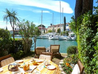 House 6 persons  et  mooring 12 m Port Grimaud