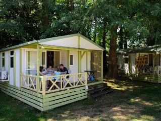 Camping L'Apamee*** - Chalet 3 Pieces 5 Personnes