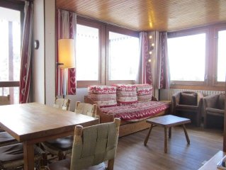 2 rooms flat close to the piste