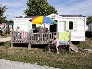 Camping Le Ranch*** - Mobil Home 3 Pieces 5 Adultes + 1 Enfant