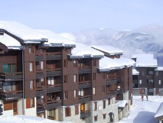 Ideally situated close to the ski school