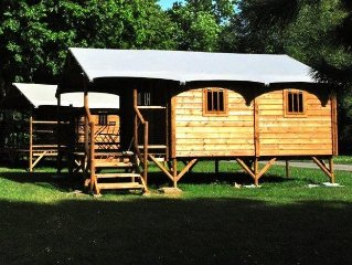Camping Sites et Paysages La Foret*** - Cabanne Lodge 3 Pieces 2/4 Personnes