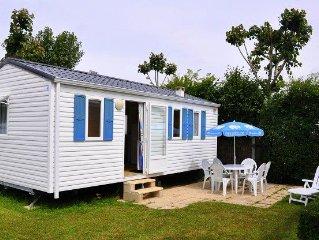 Camping Domaine des Salins**** - Mobil Home 3 Pièces 4 Personnes