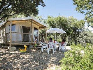 Camping Coteau de la Marine**** - Tente Equipee 3 Pieces 4 Adultes + 1 Enfant