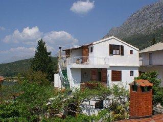 Apartment in Podaca (Makarska), capacity 4+0