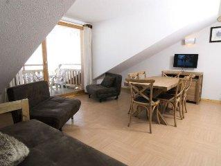 Residence Le Balcon des Airelles**** - 2 Pieces 2/4 Personnes