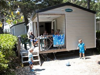 Camping La Presqu'ile**** - Mobil Home Evasion 3 Pieces 4 Personnes