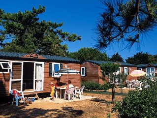 Camping Tamarins Plage - Mobil Home 4 Pieces 6/8 Personnes