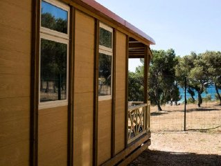Camping Pascalounet** - Bungalow Privilege 3 Pieces 5 Personnes
