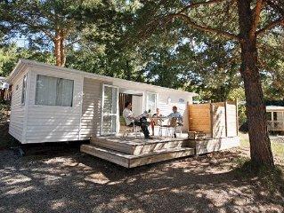 Camping Chanteraine *** - Mobilhome 6 personnes - 6 places, (0-5 ans) (entre 0 e