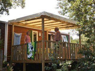 Camping des Alberes**** - Mobil Home Loisirs 3 Pieces 4 Personnes
