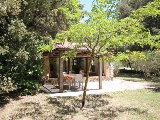 Charming  stonehouse, nature an calm, in Provence, with pool