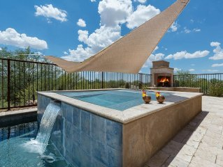Starry Point- Enjoy the views from the patio or the pool at this Tucson home!