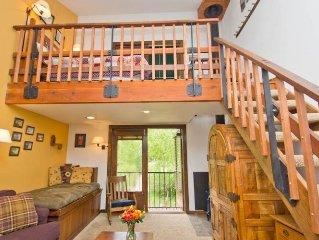 Manitou Lodge #6: 1 BR / 1 BA hotel room in Telluride, Sleeps 4