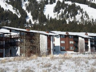 2bd/1ba Tensleep B 14: 2 BR / 1 BA condominiums in Teton Village, Sleeps 6