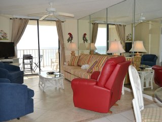 702 Sunswept  2 BR/ 2 BAth Gulf Front DIRECTLY ON THE BEACH