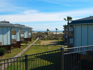 2 bedroom 2 bath condo with one of the best views at Beachhead!