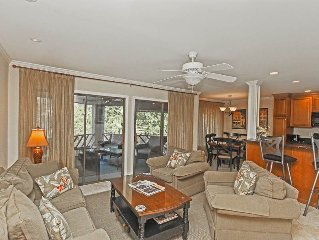 25% off spring and summer dates! 2 bedroom lagoon view condo, close to tennis a