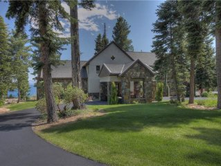 Bella Vista: 4 BR / 5 BA house/cabin in Tahoe Vista, Sleeps 10