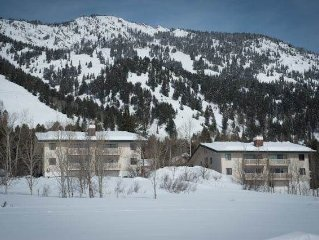 2bd/2ba Whiteridge B 5: 2 BR / 2 BA condominiums in Teton Village, Sleeps 4