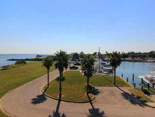 The best of the best at  Channelview! 2 bed/ 2 bath, private pier, and pool!