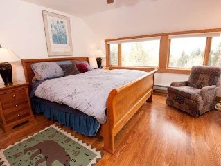 4BD/3BA Barry House: 4 BR / 3 BA homes and cabins in Teton Village, Sleeps 10