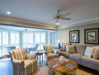 4709 Tennis Club: Charming 1st Floor Villa Near Beach With Lagoon Views