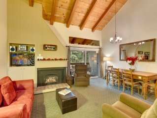 Wilderness Retreat: 3  BR, 2  BA Townhouse in Car